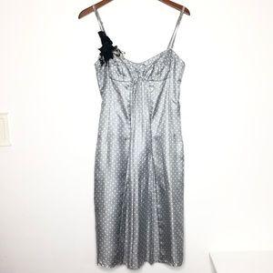 Derek lam   10% silk polk a dot dress   size 6